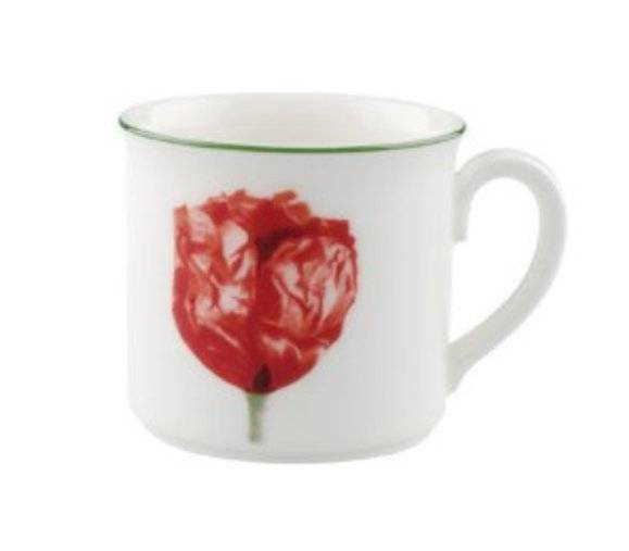 Villeroy+%26+and+Boch+FLORA+COQUELICOT+espresso+cup+NEW+NWL+0.1litre
