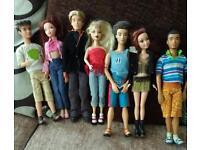My scene dolls and accessories