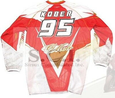 Motocross Jersey Iron-on Id Kit Iron On Letters And Numbers