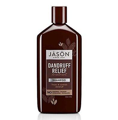 Jason Dandruff Relief Shampoo Natural Treatment Control Flaking And Itchy Scalp Jason Dandruff Control Shampoo