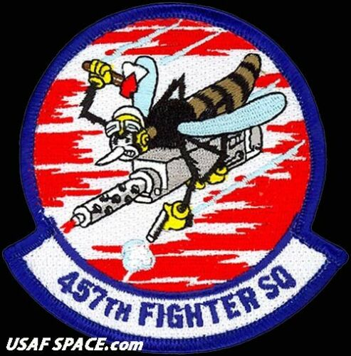 USAF 457TH FIGHTER SQUADRON - F-16 - Carswell ARS, TX - ORIGINAL VEL PATCH