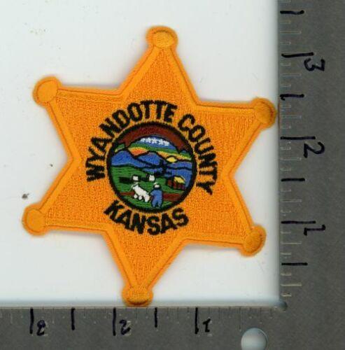 KANSAS KS WYANDOTTE COUNTY SHERIFF STYLE 1 POLICE