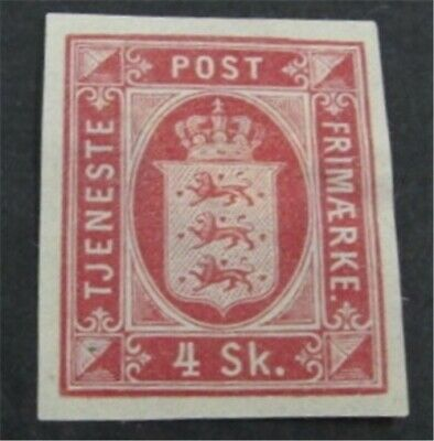 nystamps Denmark Stamp Used Imperf Proof Rare   L23y238