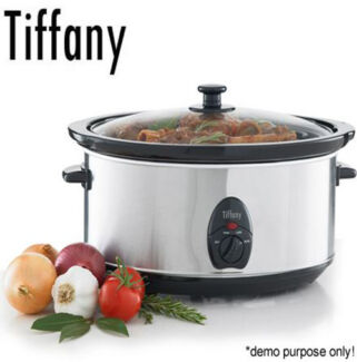 Tiffany 6.5 Litre Electric Stainless Steel Slow Cooker Sydney City Inner Sydney Preview