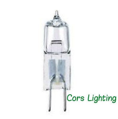 10 PACK- 10 watt 12 volt T3 Bi-Pin G4 Base Clear Halogen Light Bulb 12V Lamp 12 Volt Clear Bi Pin