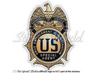 US Justice Department DRUG ENFORCEMENT ADMINISTRATION Badge DEA Sticker Decal