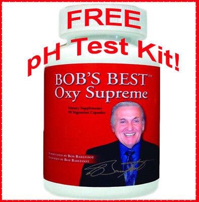 Bob's Best OXY Supreme! - Bob Barefoot EXP. 2021 + FREE saliva pH test