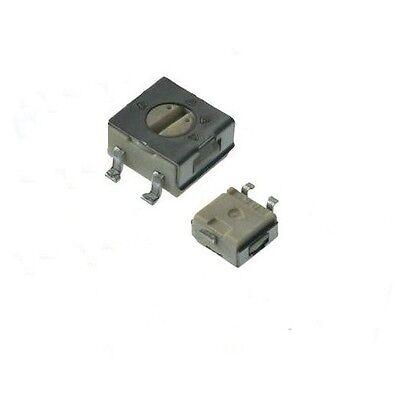 Poti Potentiometer linear stereo 500K 125mW Achslänge 1 pc 9mm Lötpins