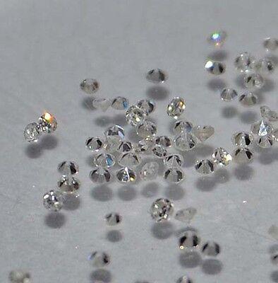 2 Echte kleine Diamanten VSI 0,6 bis 0,7 mm Top Angebot