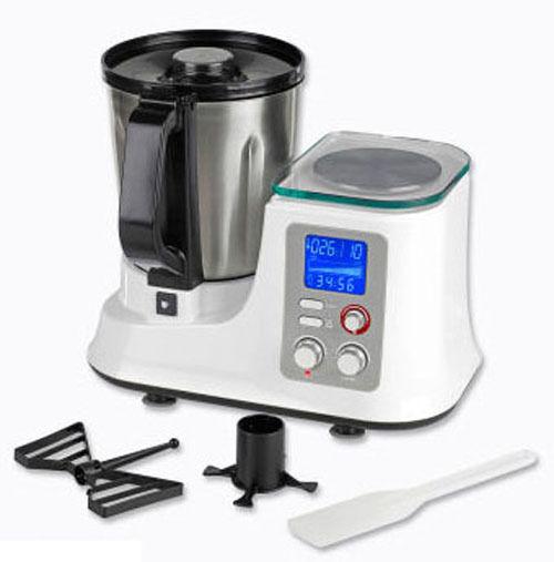 Multifunktions-Küchenmaschine Mit Kochfunktion Und Waage, Thermo