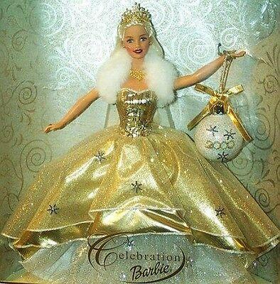 NIB 2000 Holiday Celebration Special Edition Barbie Doll Mattel NRFB Collectors