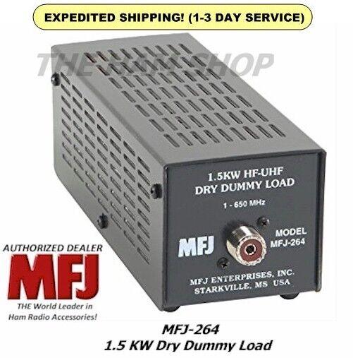 MFJ 264 Dummy Load, Legal Limit - 1500 Watts, Range 0-650 MH