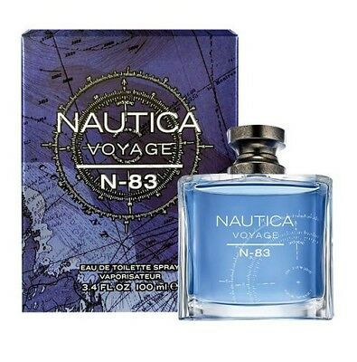 Nautica Voyage N-83 Men 3.3 3.4 oz 100 ml *Eau De Toilette* Spray Nib Sealed segunda mano  Embacar hacia Mexico