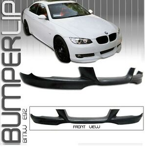 E92 93 Mtech style front lip brand new in PU 2007 2008 2009 2010