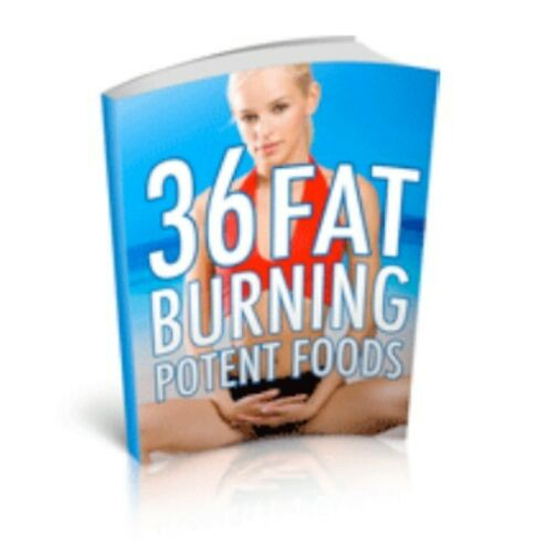 36 Fat Burning Foods PDF eBook W/resale right