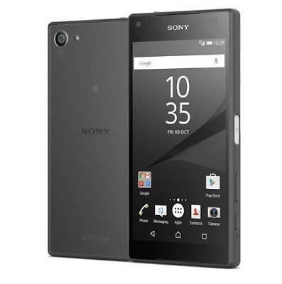 4.6'' Sony XPERIA Z5 Compact E5823 32GB 23MP (T-mob Unlocked ) Smartphone Black