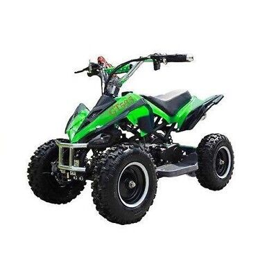 RV-Racing Quad Miniquad Kinder ATV 6 Zoll 49cc 2 Takt Pocketquad Kinderquad Grün