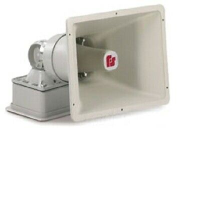 New Federal Signal Siren-electronic-remotely Selectable-multi Tone-multi-voltage