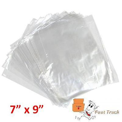 100 x CLEAR POLYTHENE PLASTIC FOOD APPROVED BAGS 7
