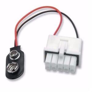 9V BATTERY POWER ADAPTER FOR POWER COMMANDER 3 USB - NEW