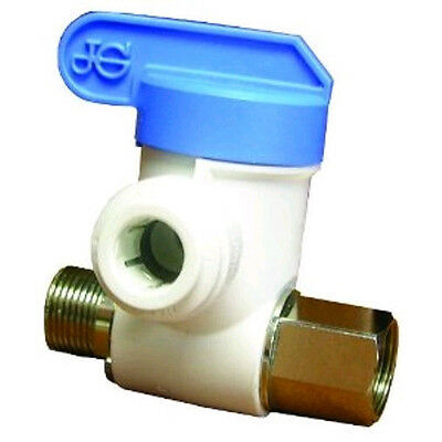 - JG Speedfit ASVPP1LF 3/8-Inch by 3/8-Inch by 1/4-Inch Angle Stop Adapter Valve