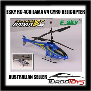 *ON SALE* - RC ESKY 2.4GHZ LAMA V4 4CH GYRO HELICOPTER -AUS SELLER-LIMITED STOCK