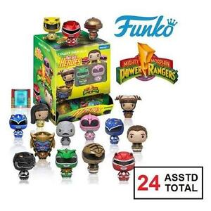 24 NEW ASSTD MINI POWER RANGERS - 127823345 - FUNKO PINT SIZE HEROES MINI FIGURES MYSTERY BOX INDIVIDUALLY WRAPPED IN...