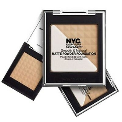 N.Y.C NYC SMOOTH NATURAL MATTE FACE POWDER FOUNDATION BRAND NEW *CHOOSE
