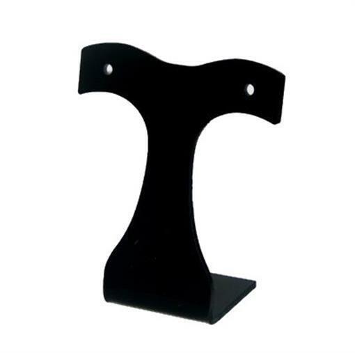 Black Acrylic Earring Display Tree Stand - 1 pc