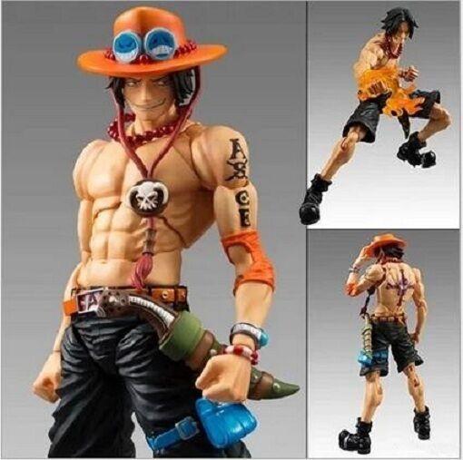 "Anime One Piece VAH Portgas D Ace 8/""//20cm PVC Action Figure Toy Gift"