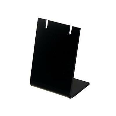 Black Acrylic Slantback Earring Display Stand