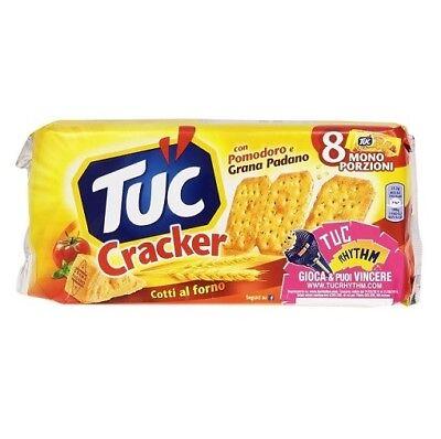 TUC Kekse Salzgebäck Tomaten und Cheese Käse Grana Padano 250g Packung