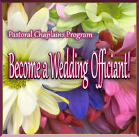 Wedding Chaplain Training  online  March 23