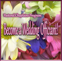 Chaplain wedding training online March 23
