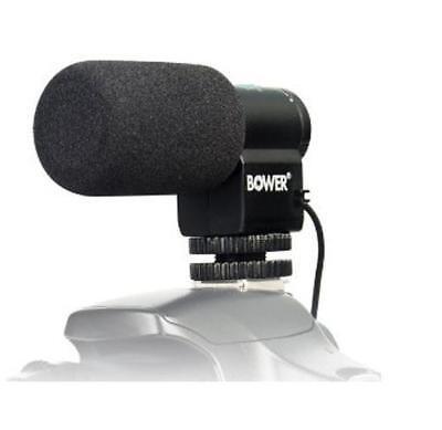 Bower Microphone For Canon EOS T7i T6i T6s T5i T4i T3i SL2 80D 77D 70D 7D 6D