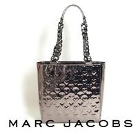 Marc By Marc Jacobs authentic heart metallic tote. NWT