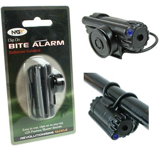 NGT Carp Fishing Clip On Rod Z Bite Alarm x 1 (New Model)