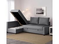 Ikea corner sofa bed (almost NEW)