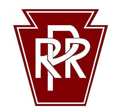 PRR Pennsylvania Railroad Sticker / Decal R4621 Railway Train YOU CHOOSE SIZE (Train Stickers)