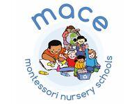 Montessori Teacher (0-6months Exp)