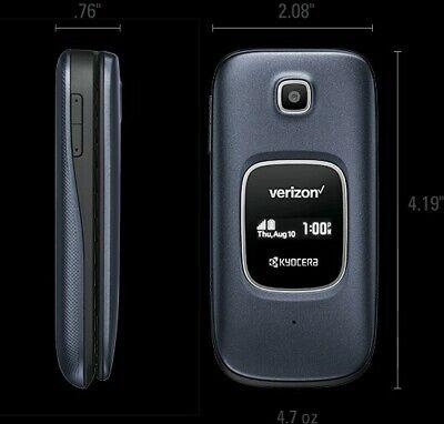 Kyocera Cadence 4G LTE S2720 Verizon Wireless 16GB Basic Flip Phone