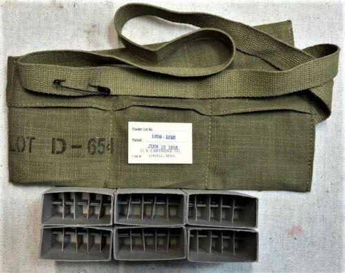 WORLD WAR ONE  M1903 AND M1917 RIFLE REPLICA M1906 BANDOLEER REPACK  KIT