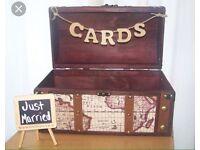 Brand new Vintage wedding card box