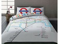 Home london tube map bedding king size