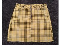 Selection of Topshop mini skirts all size 6