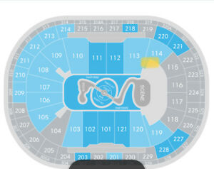 2 tickets for Justin Timberlake Man of the Woods Tour, Québec