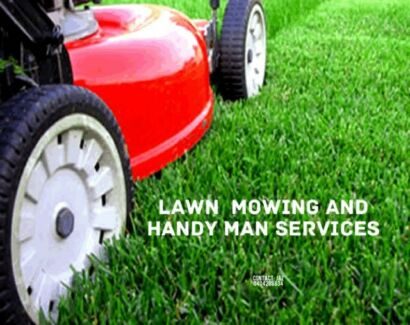 Lawn Mowing And handy man services