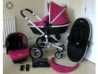 Silver cross stroller all info on pic