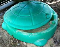 Plastic sandbox