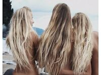 Mobile Hair Extension Technician- Russian and Brazillian 7A Luxury hair available